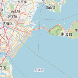 Map of Shantou