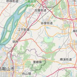 Map of Nanjing