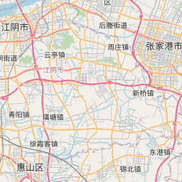 Map of Wuxi