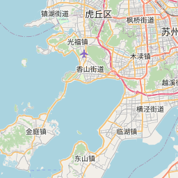 Map of Suzhou