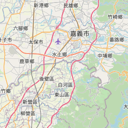 Map of Alishan