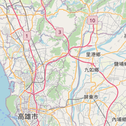 Map of Xikantou