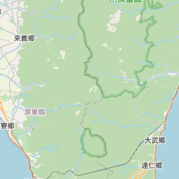 Map of Kaojian