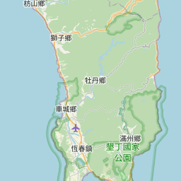 Map of Hengchun