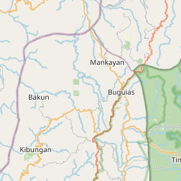 Map of Baguio