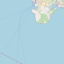 Map of Dalian