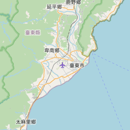 Map of Taitung