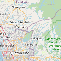Map of Quezon