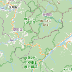 Map of Yilan