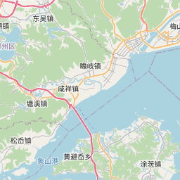 Map of Ningbo