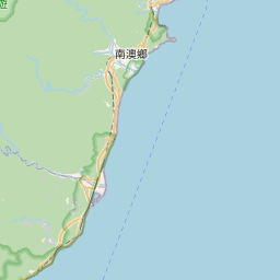 Map of Hualien