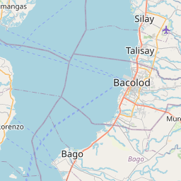 Map of Bacolod
