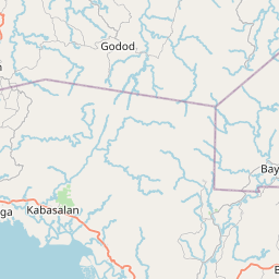 Map of Zamboanga