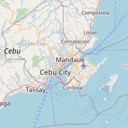 Map of Cebu