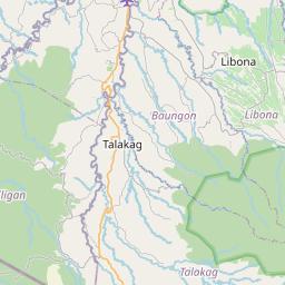 Map of Iligan