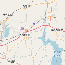Map of Changchun