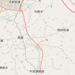 Map of Harbin