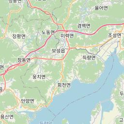 Map of Gwangju
