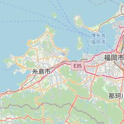 Map of Fukuoka