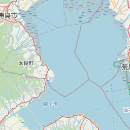 Map of Kumamoto