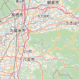 Map of Fukuoka