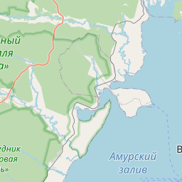 Map of Vladivostok