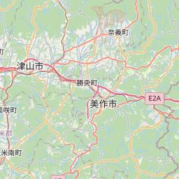 Map of Okayama