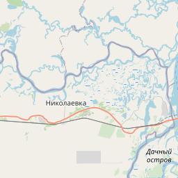 Map of Khabarovsk