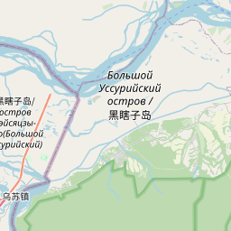 Map of Khabarovsk