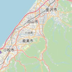 Map of Kanazawa