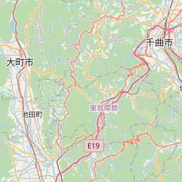 Map of Nagano-ken