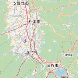 Map of Nagano-ken