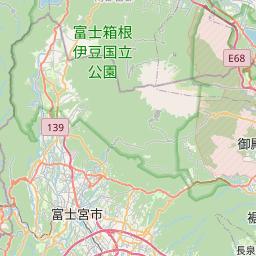 Map of Shizuoka