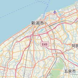 Map of Niigata