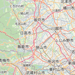 Map of Matsudo