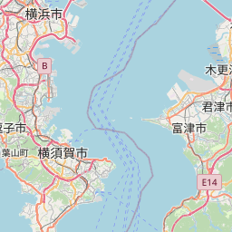 Map of Kawasaki