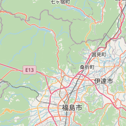 Map of Sendai