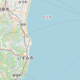 Map of Chiba