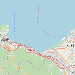 Map of Sapporo