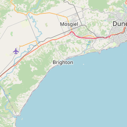 Map of Dunedin