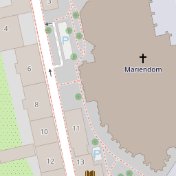 OpenStreetMap Tile at 18/141474/90797