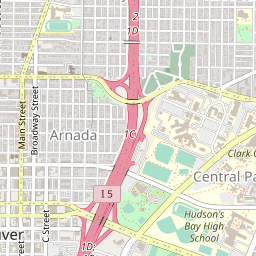 OpenStreetMap Tile at 14/2609/5852