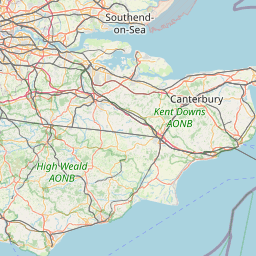 OpenStreetMap Tile at 8/128/85